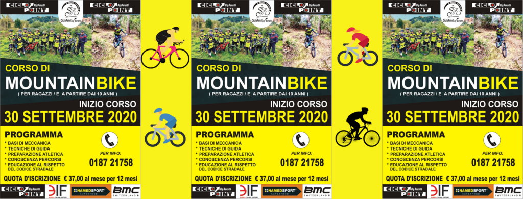 Corso di mountain bike